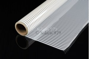 Venitian Blinds DLX-00/01, White Stripes10, Decorative Film, Kraftfilms, Width 1,52m Decorative & privacy filmsVenitianBlinds DLX-00/01, WhiteStripe10, Decorative, KraftfilmsKRAFT FILMSwindowfilms24.online
